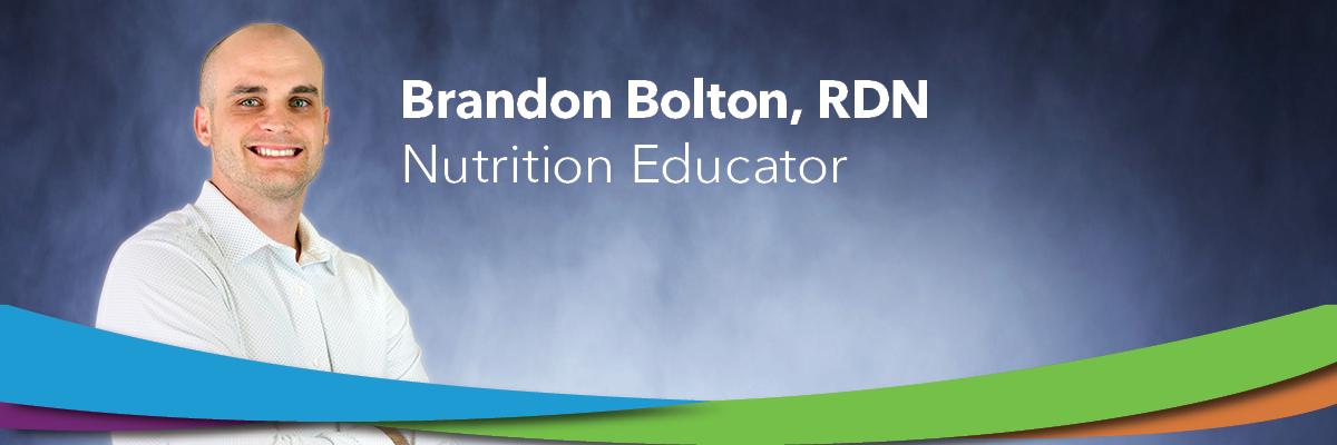 Brandon Bolton, RDN