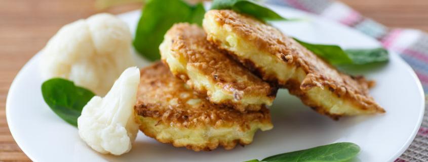 Savory Cauliflower Pancakess