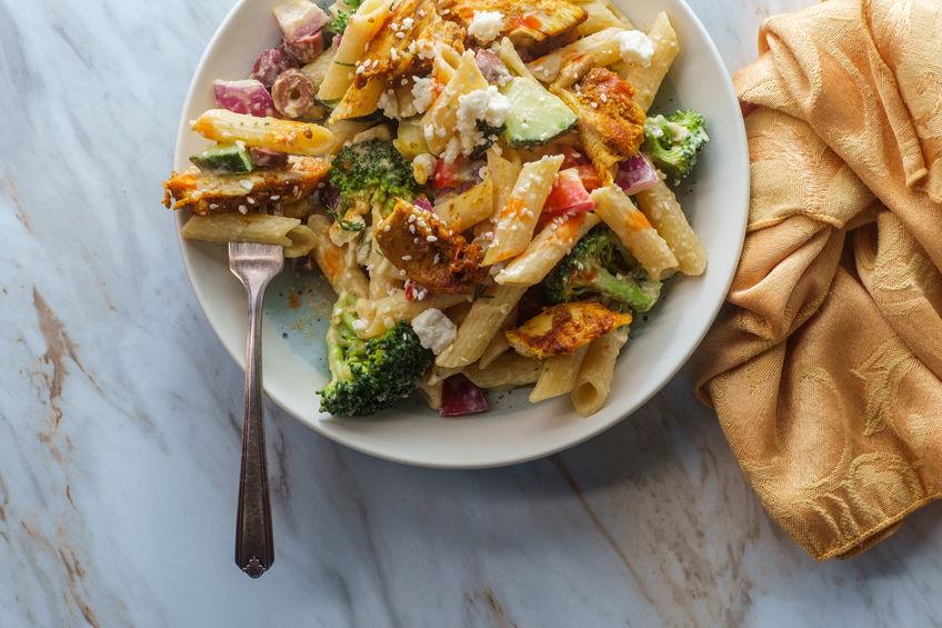 Greek Chicken Pasta