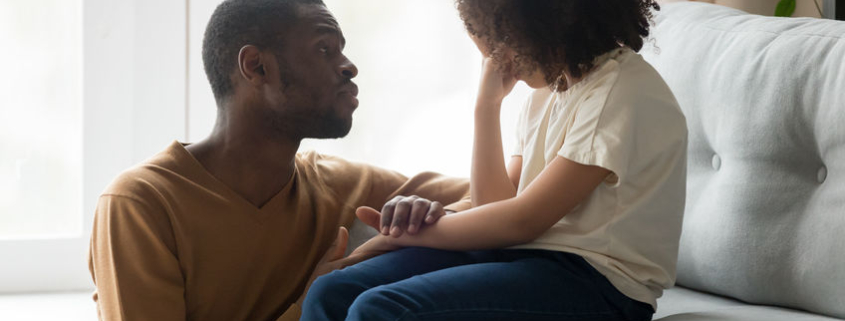 Talking to your children for mental health