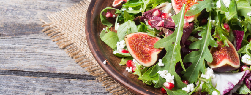 Autumn Salad with Figs